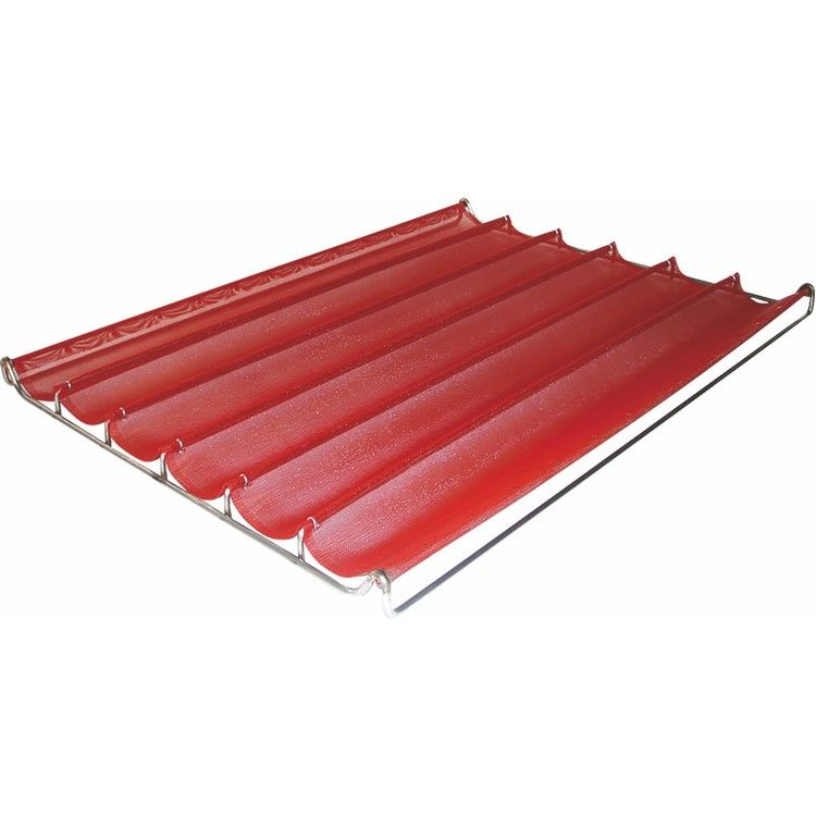 Filet cuisson silicone 80x40 cm 4 pains (photo)