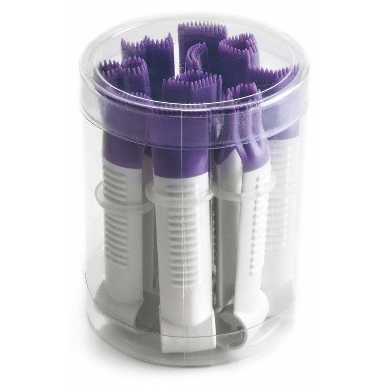 Pinces dentelees pour pate à sucre - par 10
