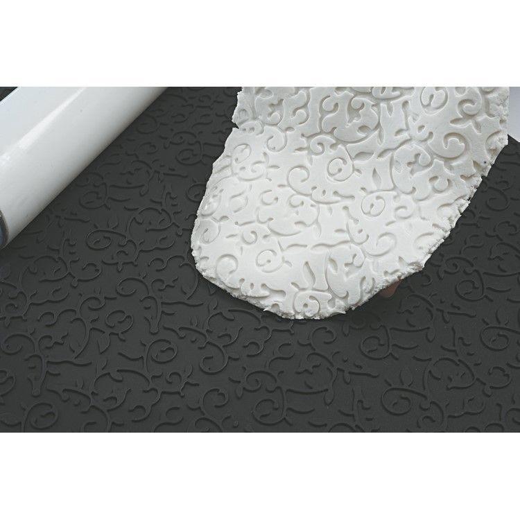 Feuille silicone décor arabesque