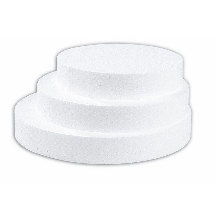 Disque polystyrène 24 cm - par 15