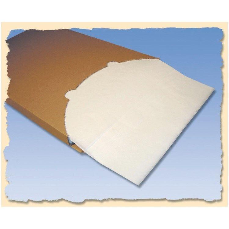 Boîte distributrice de 500 feuilles papier cuisson silicone 60 x 40 cm - 41g (photo)
