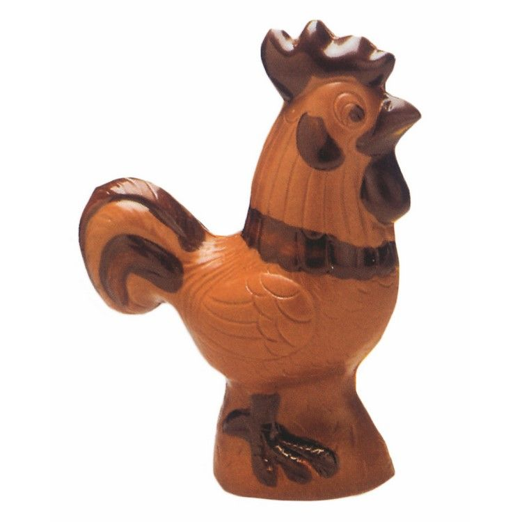Moule pour chocolat coq hauteur 112 mm