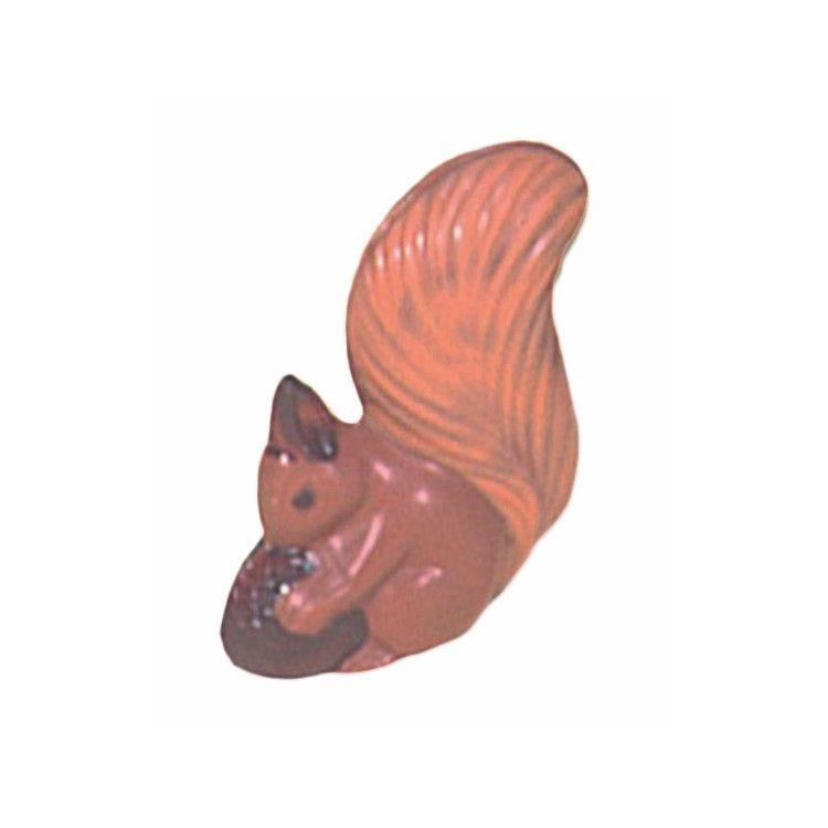 Moule pour chocolat ecureuil hauteur 110 mm