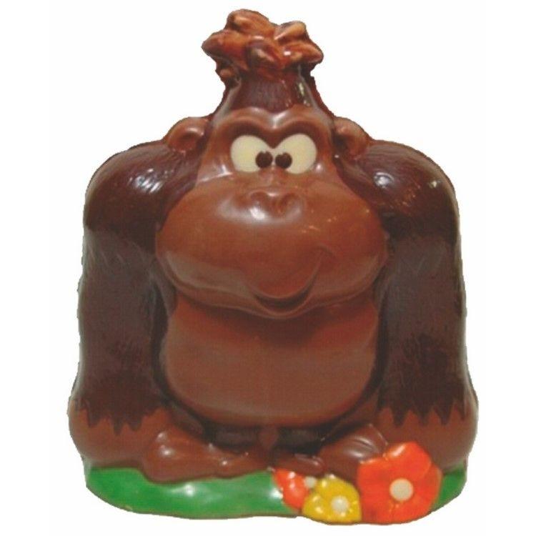Moule pour chocolat gorille hauteur 165 mm
