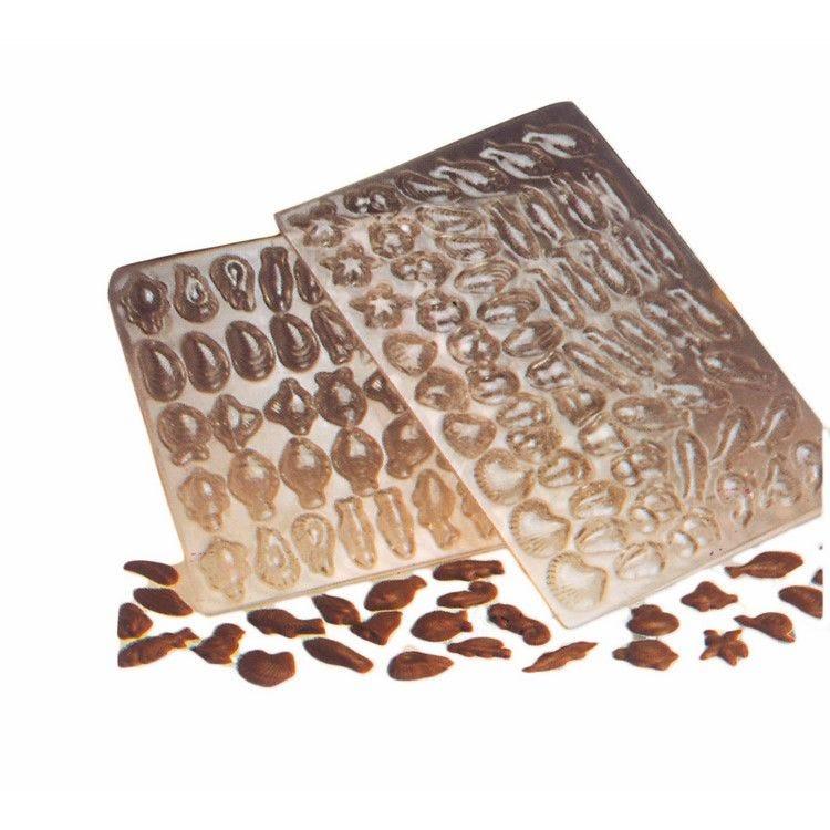 Moule pour chocolat plaque de 59 sujets paques