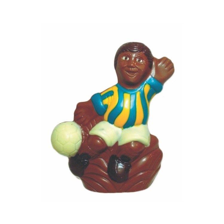 Moule pour chocolat joueur de football - hauteur 110 mm