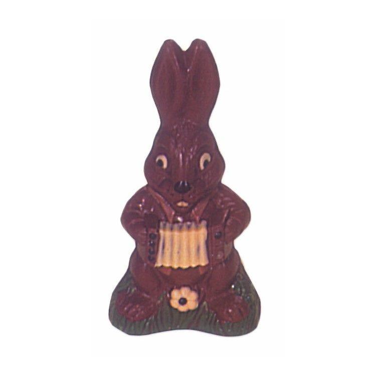 Moule pour chocolat lapin accordeon hauteur 170 mm