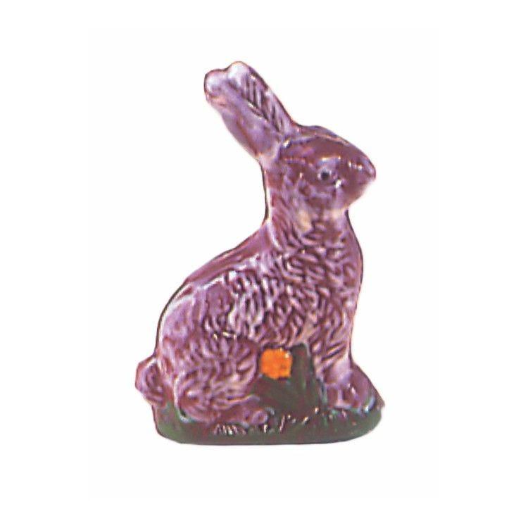 Moule pour chocolat lapin assis hauteur 180 mm