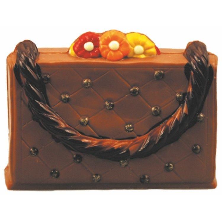 Moule pour chocolat sac a main dimensions 170 x 120 mm