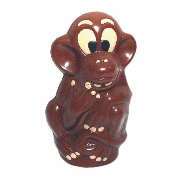 Moule pour chocolat singe haut 140 mm