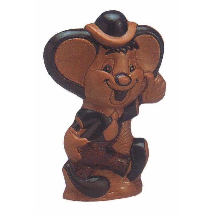 Moule pour chocolat souris  hauteur 220 mm