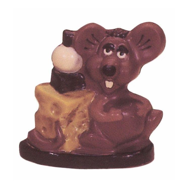 Moule pour chocolat souris avec fromage hauteur 180 mm