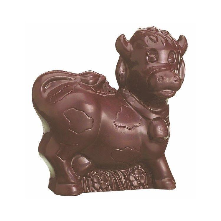 Moule pour chocolat vache longueur 150 x 122 mm