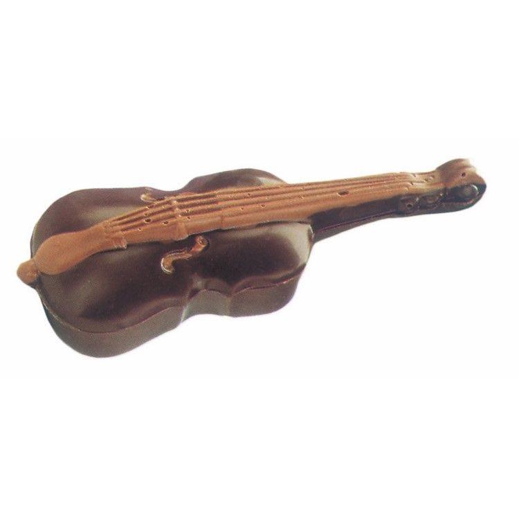Moule pour chocolat violon bonbonniere longueur 261 mm