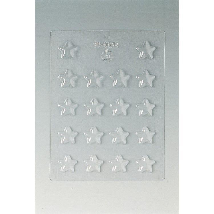 Plaque de 240 x 185 mm 18 étoiles ø 30 h 8 mm