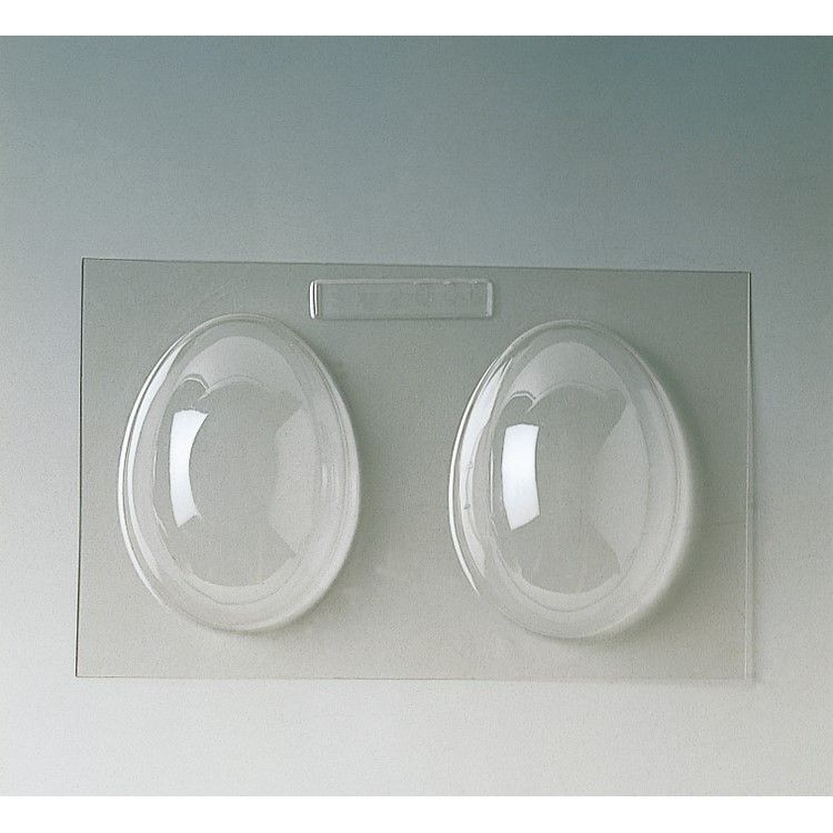 Plaque de 240 x 185 mm 2 demi-coquilles unies 110 x 80 x h 40 mm