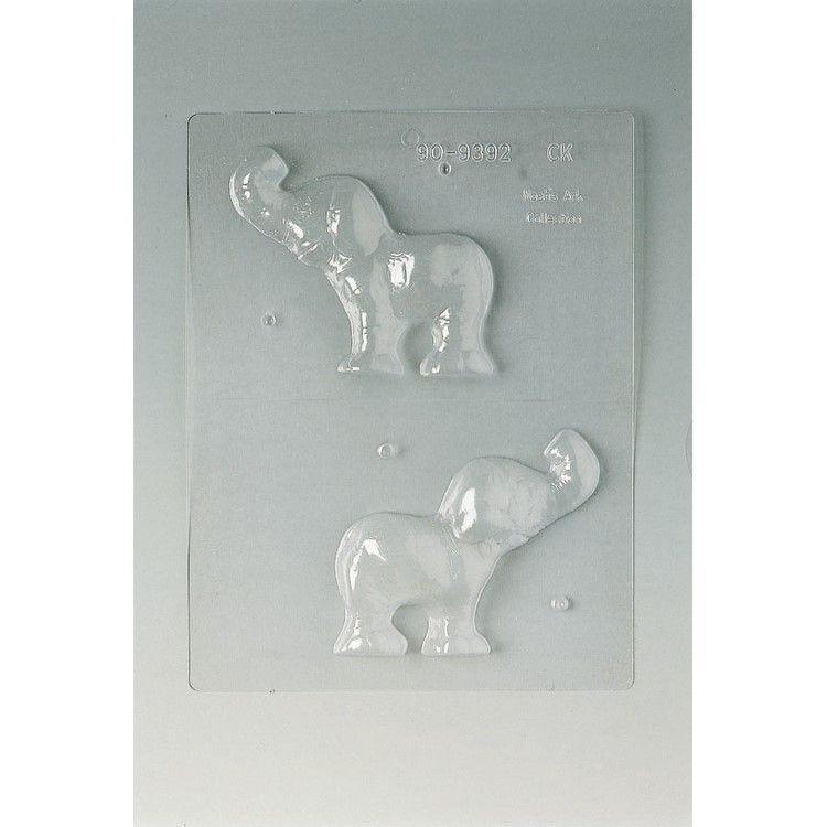 Plaque de 240 x 185 mm eléphant 110 x 95 h 14 mm
