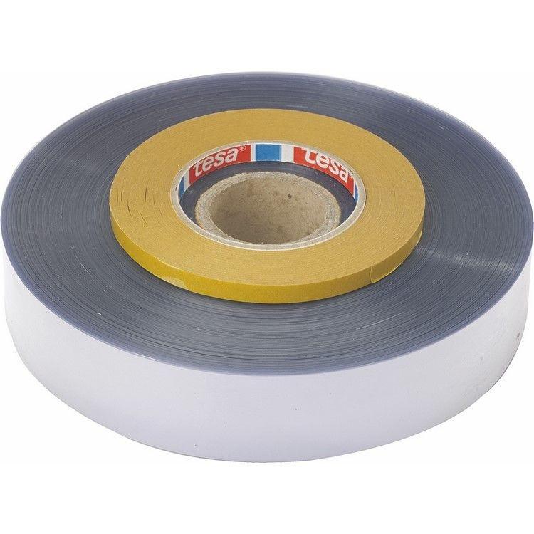 Ruban pâtissier pvc incolore de hauteur 35 mm 100 microns