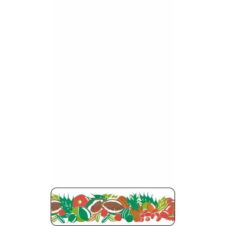 Rouleau pvc imprimé fruits exotiques 45 mm x 20 m