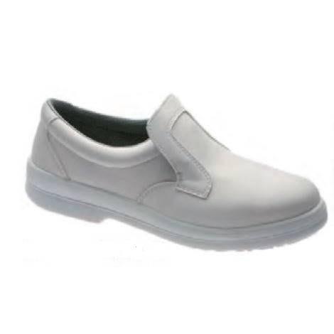 Chaussures blanches de sécurité de pointure 45 (photo)