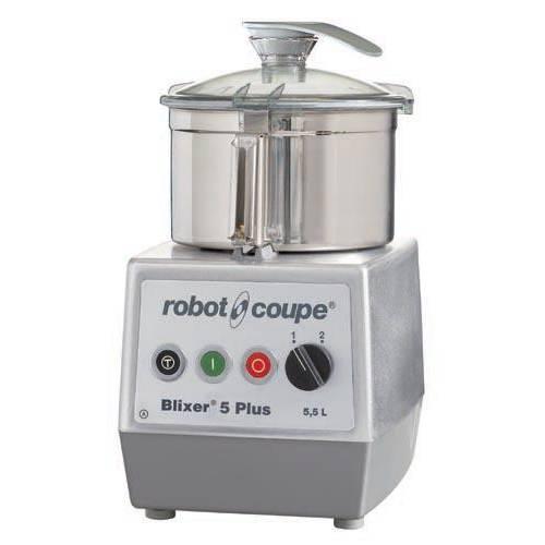 Blixer 5 plus, robot coupe triphasé 400/50/3 + acc cuve supp