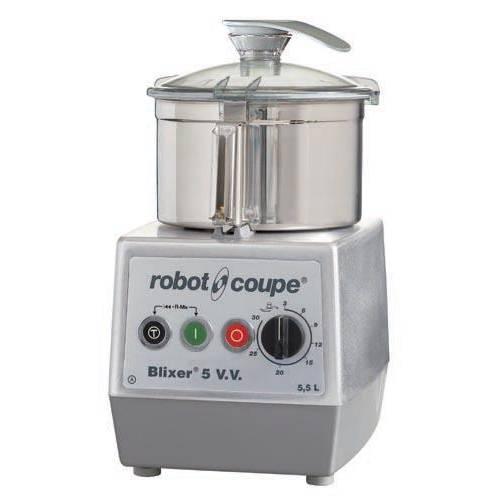 Blixer 5 vv robot coupe monophasé 230/50/1 + acc cuve supp