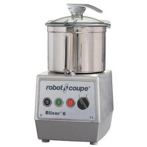 Blixer 6 robot coupe triphasé 400/50/3 + acc cuve supp