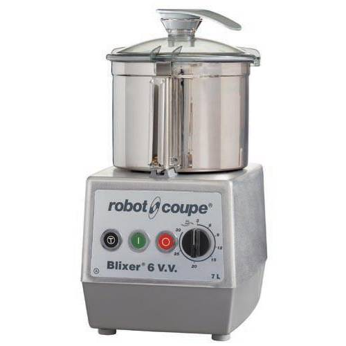 Blixer 6 vv robot coupe monophasé 230/50/1 + acc cuve supp