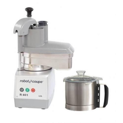 Combiné cutter/coupe-légumes r401 robot coupe monophasé 230/50/1 (photo)