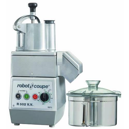 Combiné cutter/ coupe-légumes r502 vv robot coupe monophasé 230/50/1 (photo)
