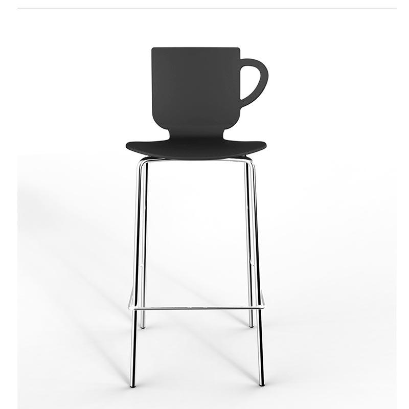 Tabouret mikela - coloris noir (photo)