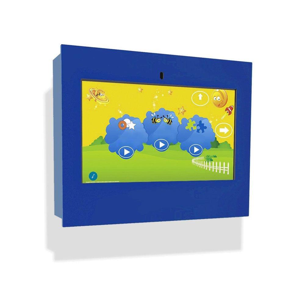 Borne intéractive murale box bleue pour les enfants de 3 à 12 ans (photo)