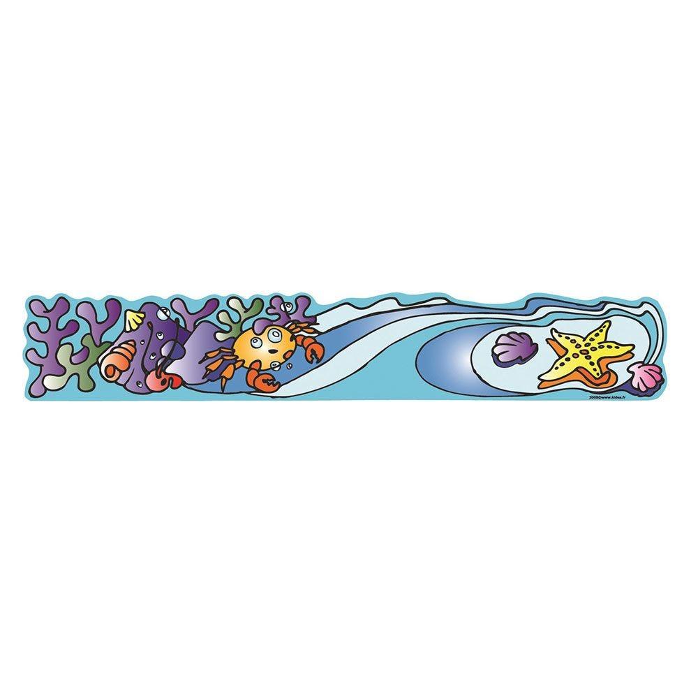 Frise murale océan de 130 x 25 cm (photo)