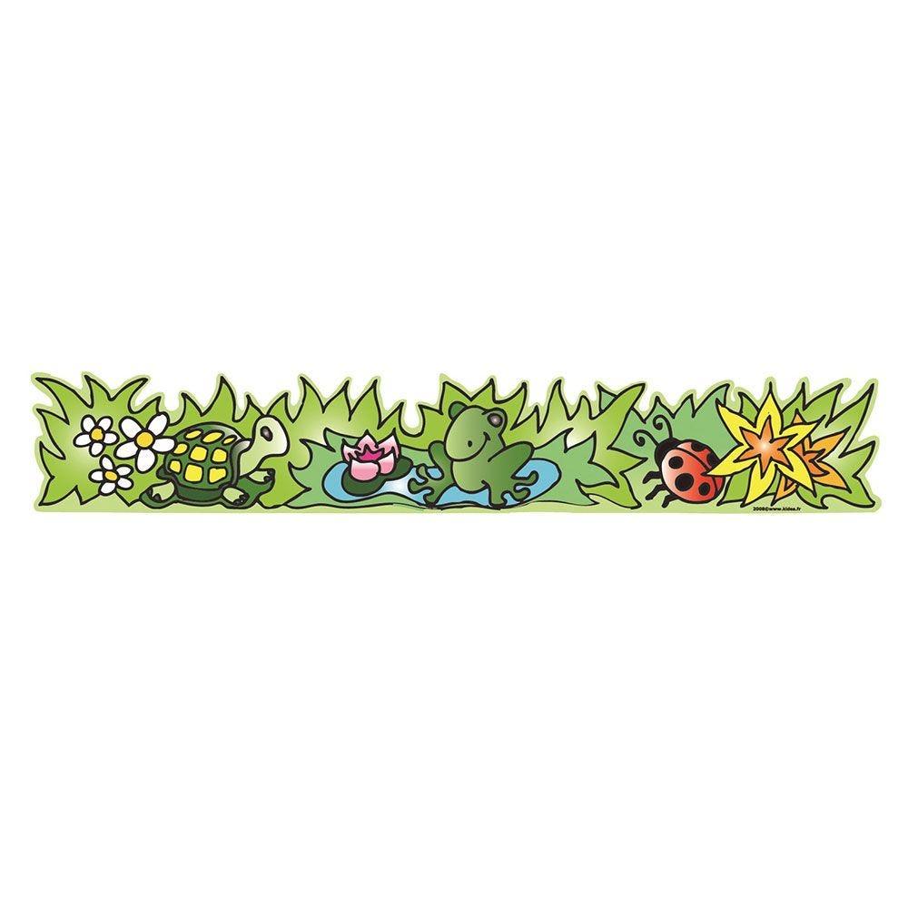 Frise murale nature de 130 x 25 cm (photo)