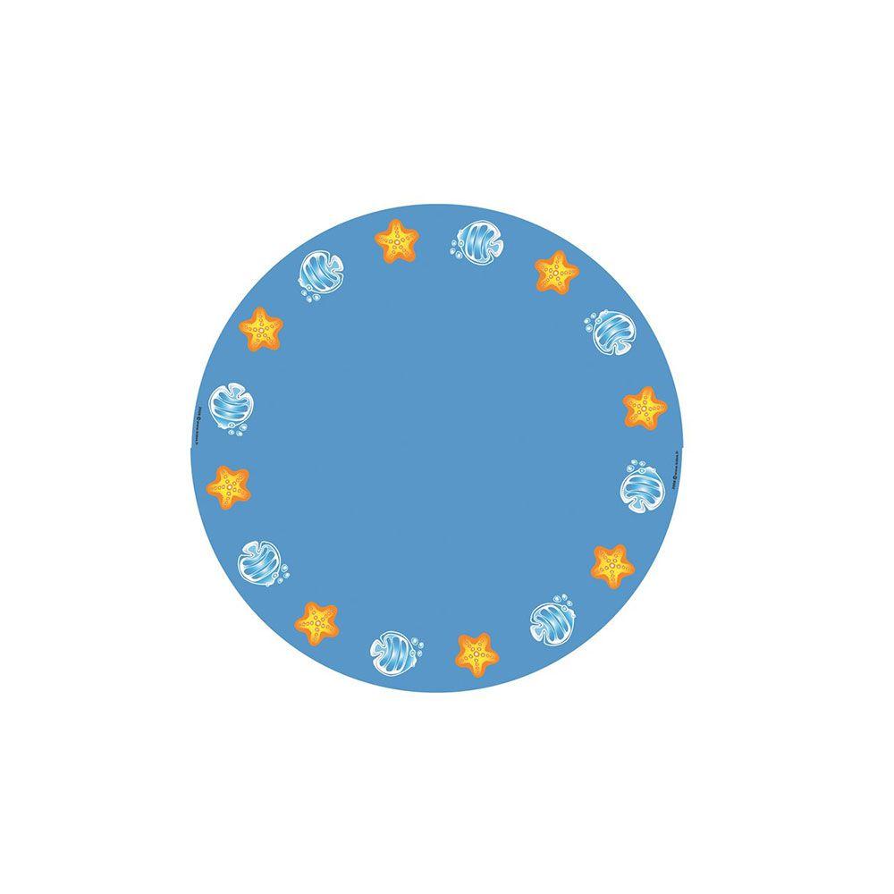 Revêtement sol océan de diamètre 130 cm (photo)