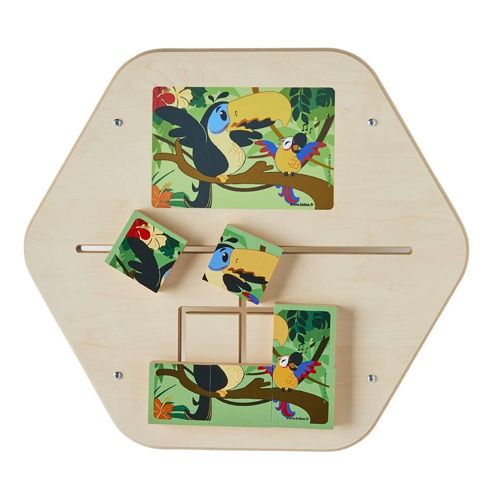 Jeu mural mini puzzle rio (photo)