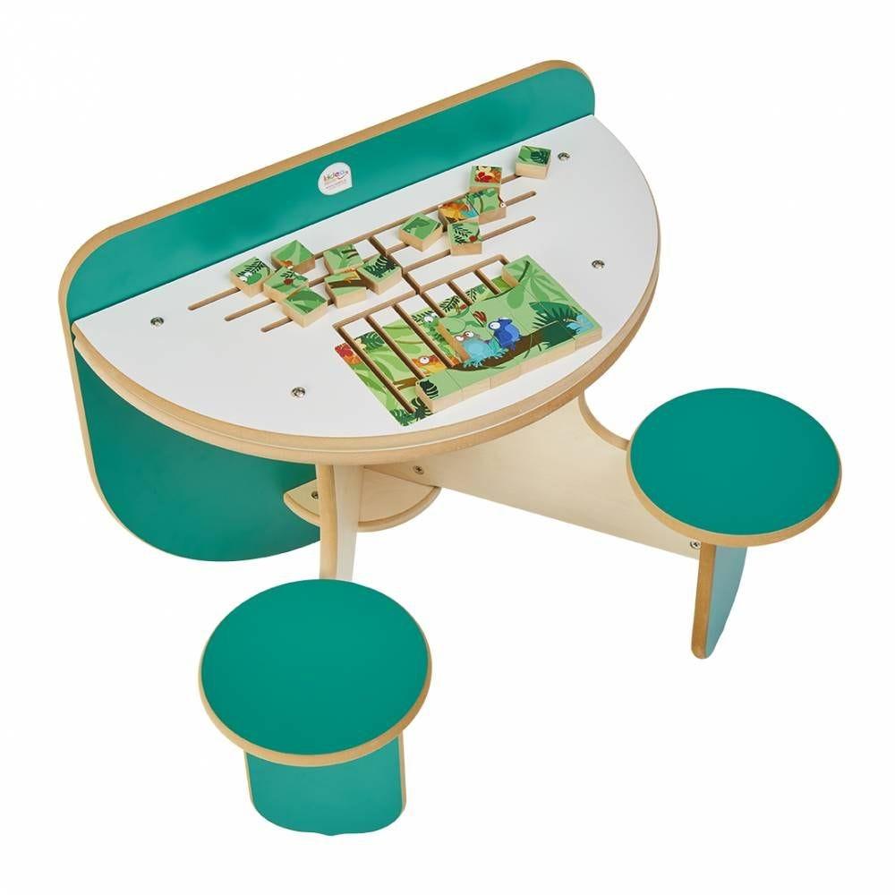 Table à jouer duo puzzle rio pour 2 enfants (photo)