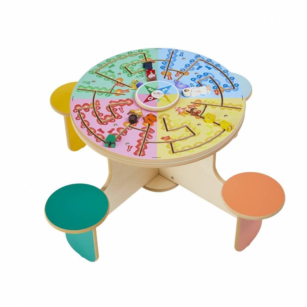 Table à jouer quatro planet (photo)