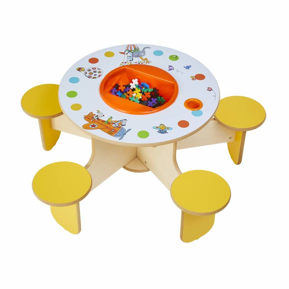 Table à jouer pento sego avec bac à jouets (photo)