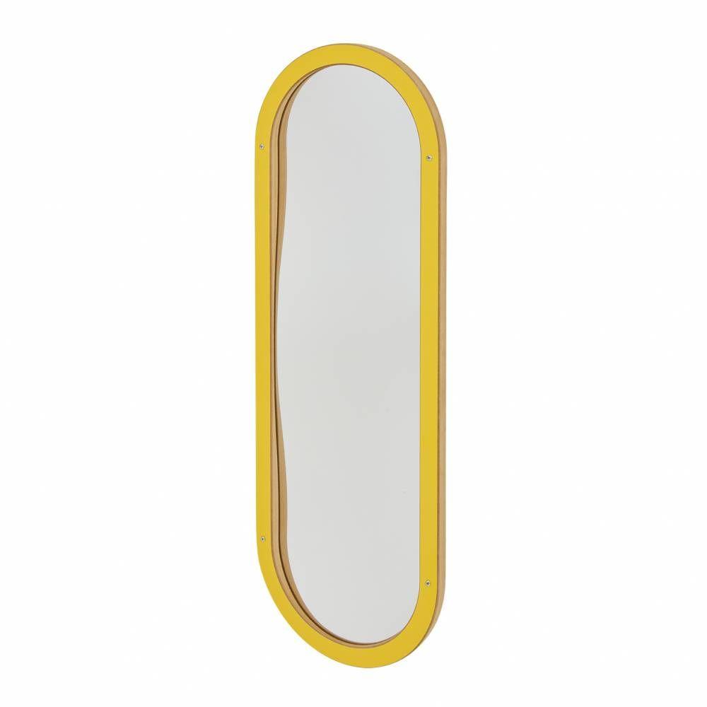 Miroir déformant jaune (photo)