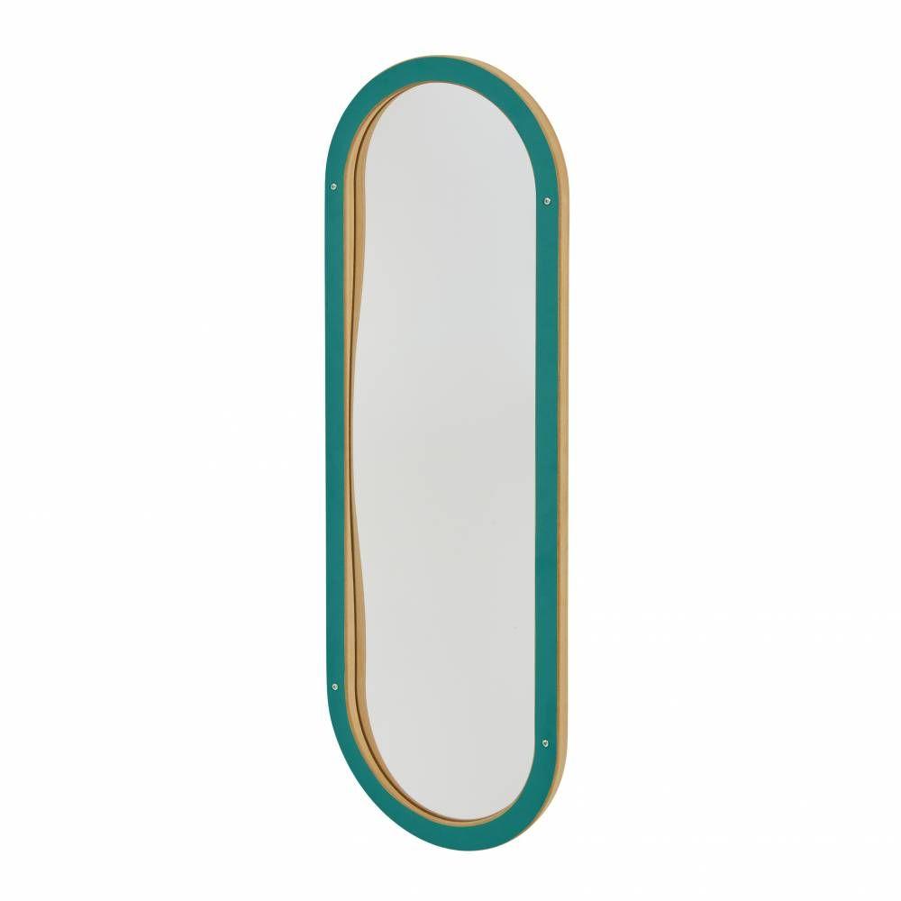 Miroir déformant vert (photo)