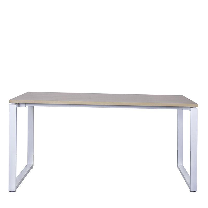 Bureau bench 120x67 cm hêtre/blanc