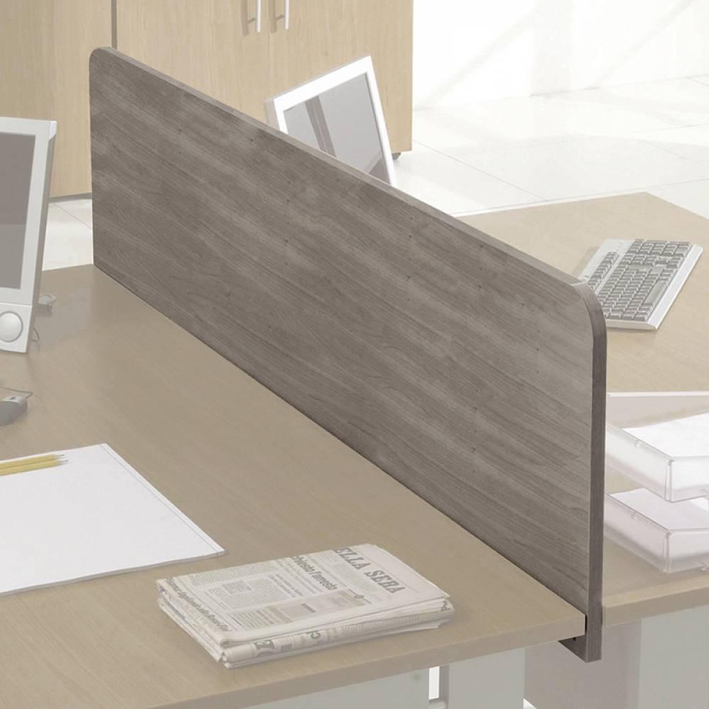 Cloisonnette de séparation largeur 120 cm chêne clair
