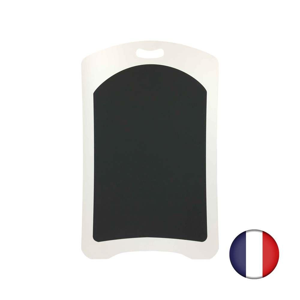Ardoise plastique avec poignée de dimensions 100 x 62,5 cm