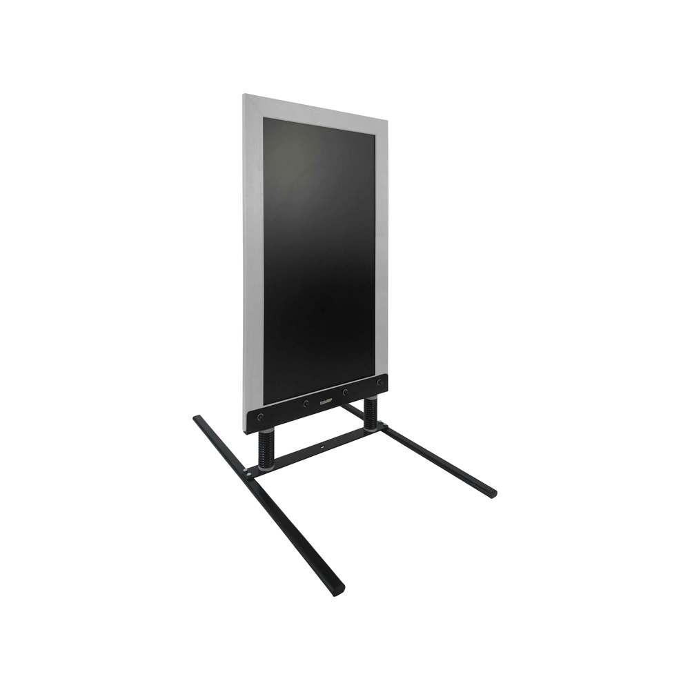 Panneau trottoir sur ressorts de 128 x 65 cm cadre bois couleur gris