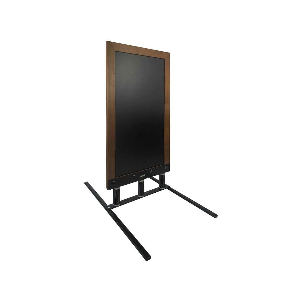 Panneau trottoir sur 3 ressorts dimensions 128 x 65 cm cadre bois couleur chêne