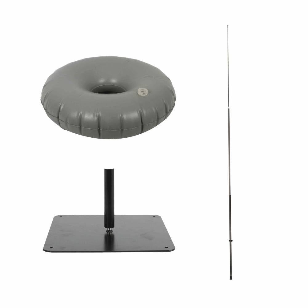 Interflag® mât 3m50 socle platine et bouée de lestage