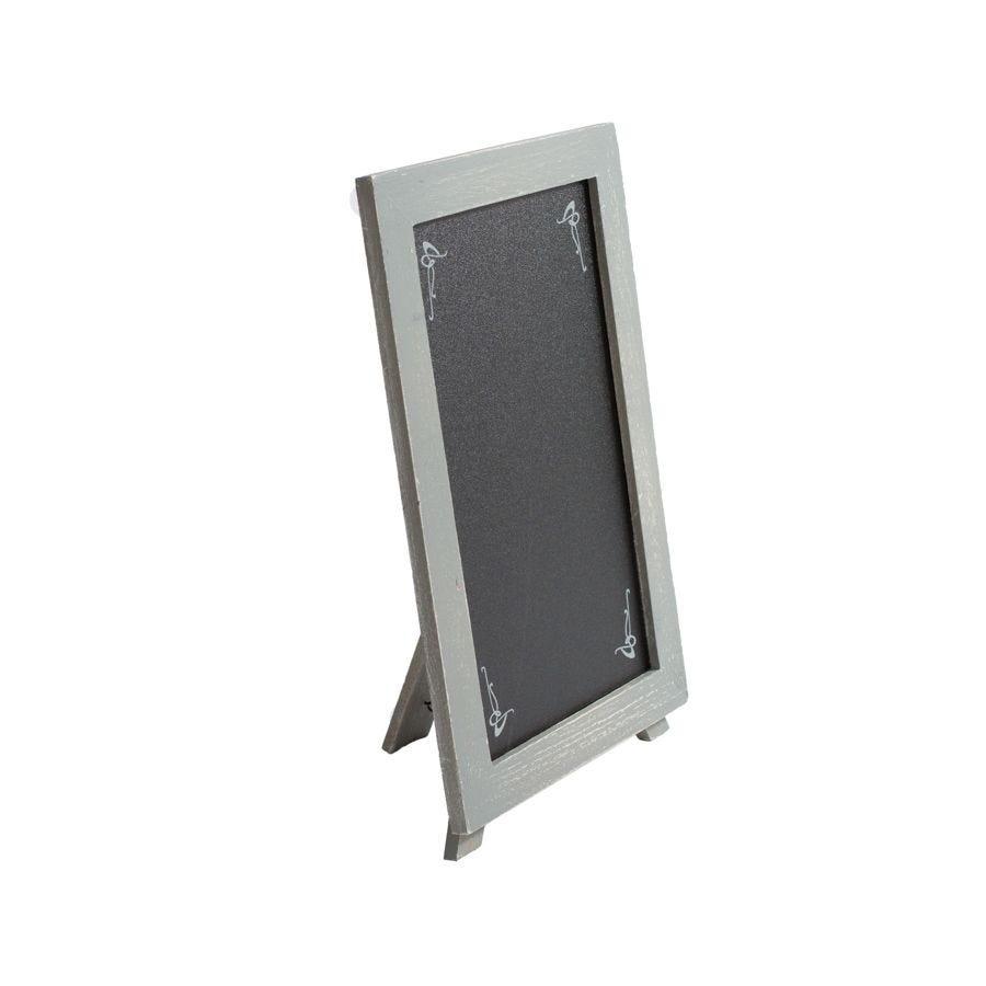 Panneau france nostalgie® chevalet de table 30x20 cm gris (photo)
