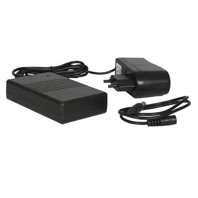 Batterie autonome 2000 ma + chargeur pour porte menu led et enseigne led mp-2040 (photo)