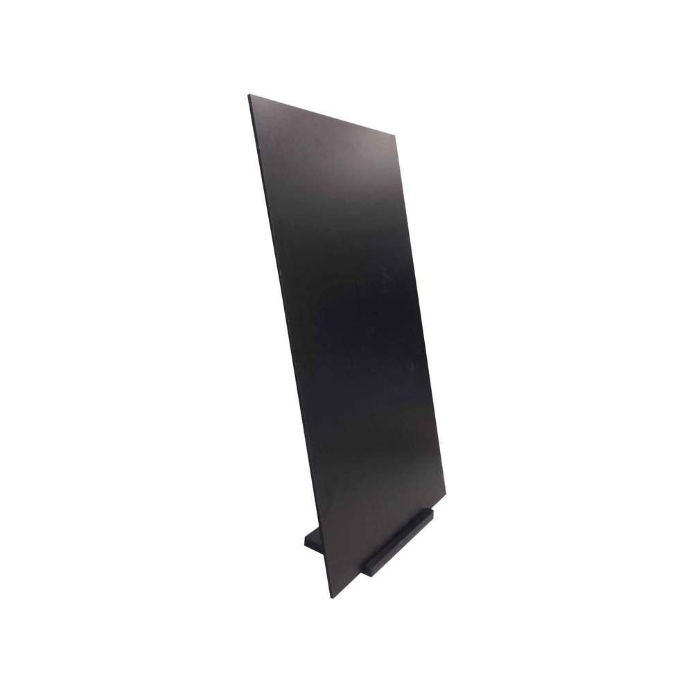 Panneau trottoir avec socle en bois dimensions 97 x 52 cm fabrication française (photo)